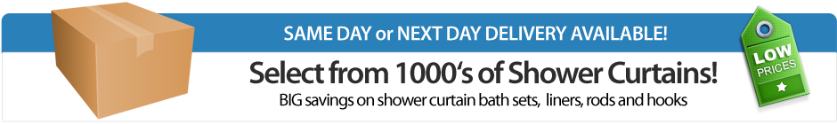 Showers Curtains - Shop for Shower Curtains from a Huge Selection ...